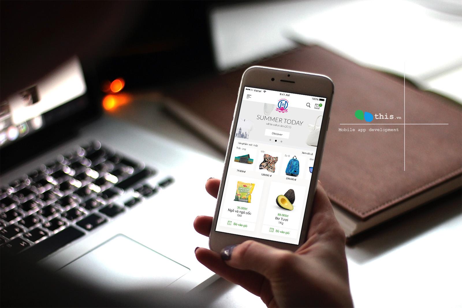 Viết ứng dụng thương mại điện tử