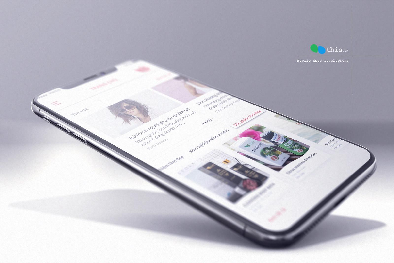 Thiết kế ứng dụng bán hàng